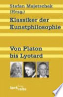 Klassiker der Kunstphilosophie