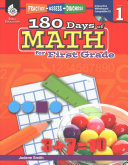 180 Days of Reading  Writing  and Math for First Grade 3 Book Set