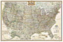 United States Executive Poster Size Map