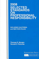 2008 Selected Standards Professional Responsibility