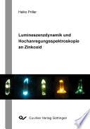 Hochanregungsspektroskopie an Zinkoxid