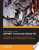 Building Websites with the ASP NET Community Starter Kit