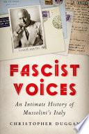 Fascist Voices