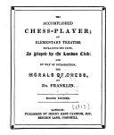 download ebook the accomplished chess-player pdf epub