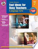 Fast Ideas For Busy Teachers Language Arts Grade 2