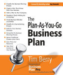 The Plan As You Go Business Plan