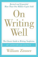 cover img of On Writing Well, 30th Anniversary Edition