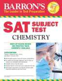 Barron s S  A  T  Subject Test Chemistry