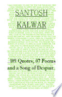 109 Quotes  07 Poems and a Song of Despair