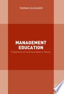 Management Education