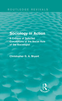 Sociology in Action (Routledge Revivals)