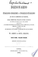 Dictionary of the English and Italian Languages for General Use