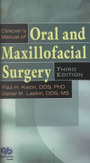 Clinician s Manual of Oral and Maxillofacial Surgery