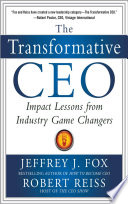 download ebook the transformative ceo: impact lessons from industry game changers pdf epub