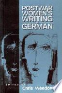 Post war Women s Writing in German