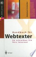 Handbuch f  r Webtexter