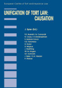 Unification of Tort Law: Causation