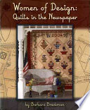 Women of Design Newspaperbased Designers On American Quilting And