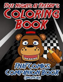 Five Nights at Freddy s Coloring Book  Fnaf Coloring Pages  Unofficial Fnaf Gift   Fnaf Comics Companion Book