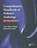 Comprehensive Handbook of Pediatric Audiology