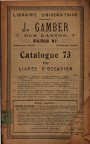 Catalogue de livres d occasion