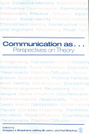 Communication as ...
