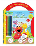 Watch Me Draw N Go Sesame Street S Let S Go With Elmo And Friends Drawing Book And Kit