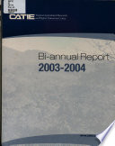CATIE Tropical Agricultural Research and Higher Education Center Bi-annual Report 2003-2004