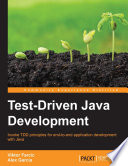 Test Driven Java Development