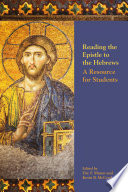 Ebook Reading the Epistle to the Hebrews Epub Eric F. Mason,Kevin B. McCruden Apps Read Mobile