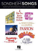 Sondheim Songs for Easy Piano  Songbook