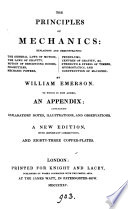 The principles of mechanics  by W  Emerson