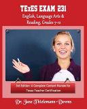 Texes Exam  231 English Language Arts   Reading  Grades 7 12 3rd Edition