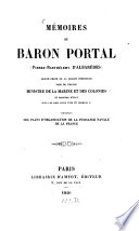 Mémoires du Baron Portal