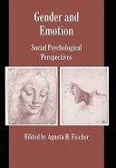 Gender and Emotion