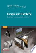 Energie und Rohstoffe