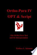 Ortho Para IV