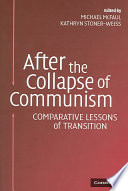 download ebook after the collapse of communism pdf epub