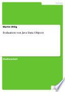 Evaluation Von Java Data Objects
