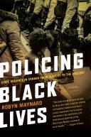 Policing Black Lives Book PDF