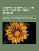Cold War Surface To Air Missiles of the United Kingdom