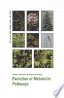 Evolution Of Metabolic Pathways book