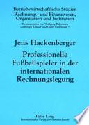 Professionelle Fussballspieler in der internationalen Rechnungslegung