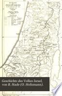 Geschichte des Volkes Israel, von B. Stade (O. Holtzmann).