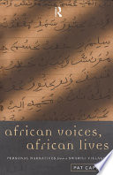 African Voices  African Lives