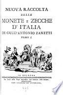 Nuova raccolta delle monete e zecche d Italia   con tavole