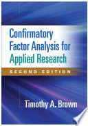 Confirmatory Factor Analysis For Applied Research Second Edition