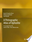 A Petrographic Atlas Of Ophiolite book