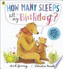 Book How Many Sleeps till my Birthday