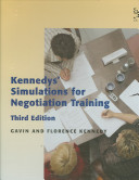 Kennedys  Simulations for Negotiation Training